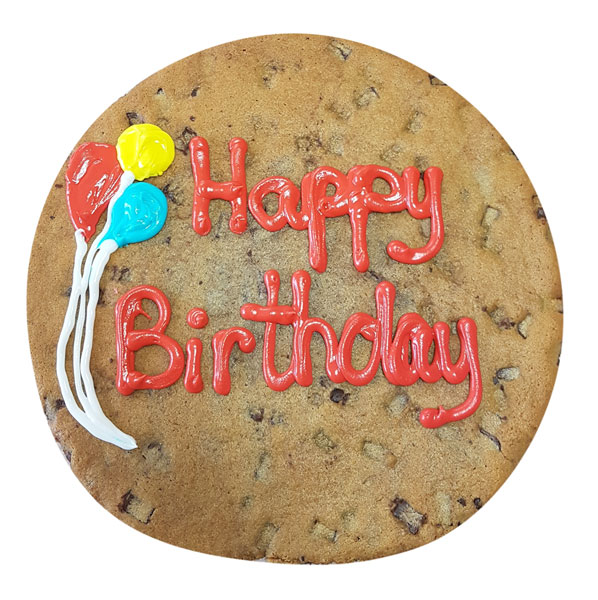 Customized Giant Birthday Cookie And Birthday Cookie Cake