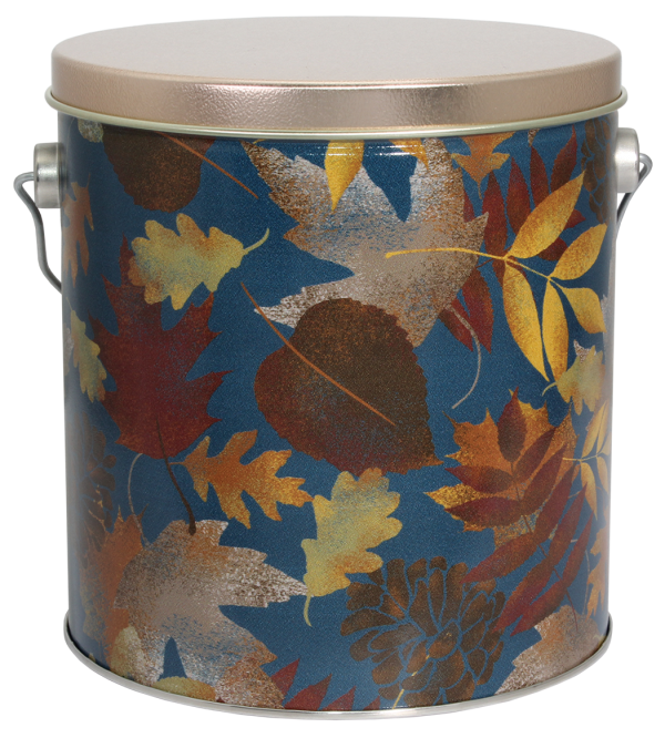 Falling Leaves Cookie Pail-Filled with 3 dozen cookies