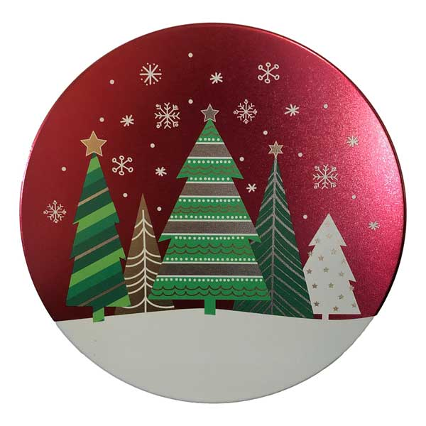 Holiday Trees Cookie Tin-filled with 18 delicious cookies!
