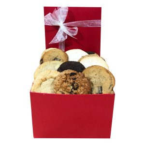 Fresh baked Cookies in a Gift Box-One and a Half Dozen
