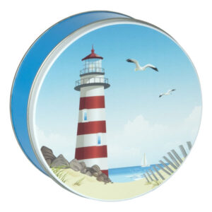 Summer Time Cookies-18 cookies in a beach themed tin. Choose from 6 flavors